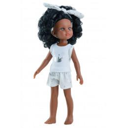 Кукла Нора в пижамке.